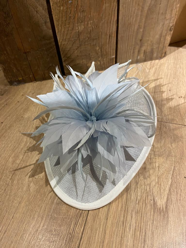 licht blauwe hoofdbandhoed