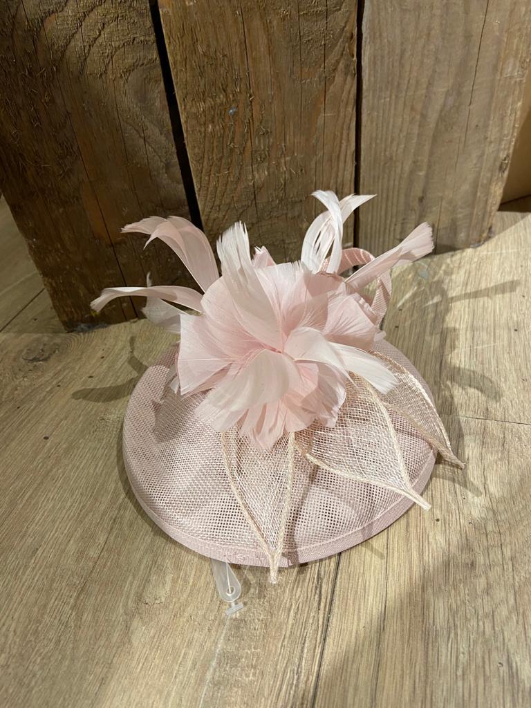 licht roze hoofdband hoed